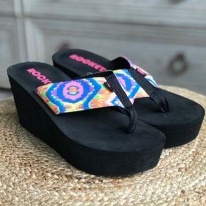 Rocket Dog Women's Platform Wedge Sandals